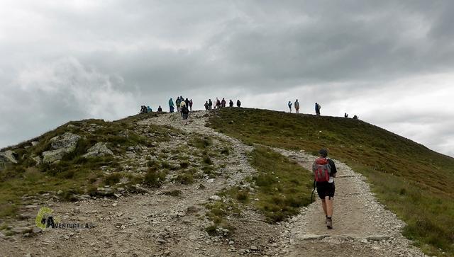 En el Pico Kondradzka kopa