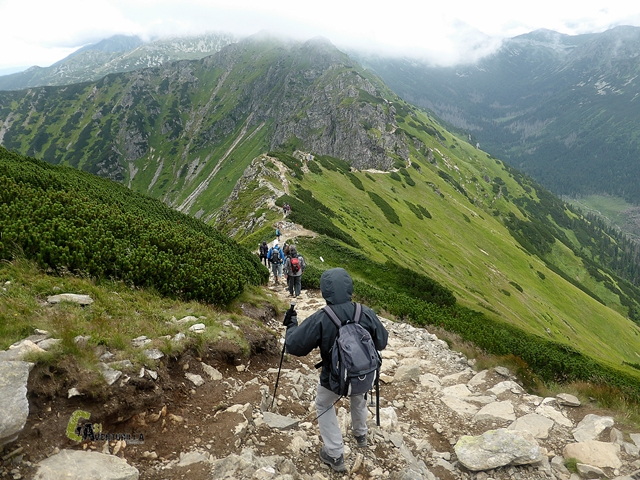 Cresta en los Tatras