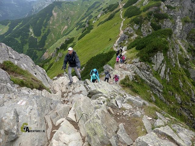 Cresterío hacia Pico Kasprowy Wierch