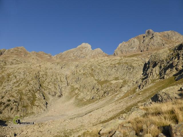 Picos Algas, Argualas y Garmo Negro