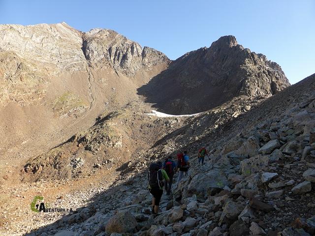 Hacia los los picos del Infierno