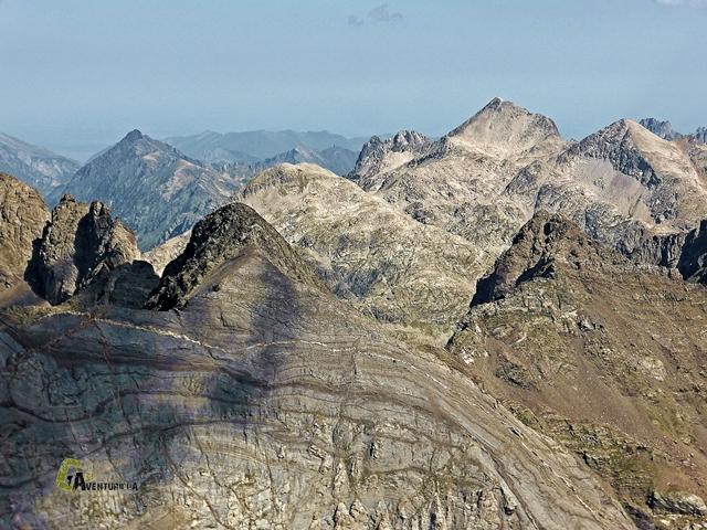 Vistas desde Los picos del Infierno