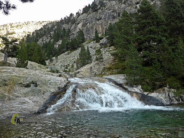 Cascadas en Pirineos