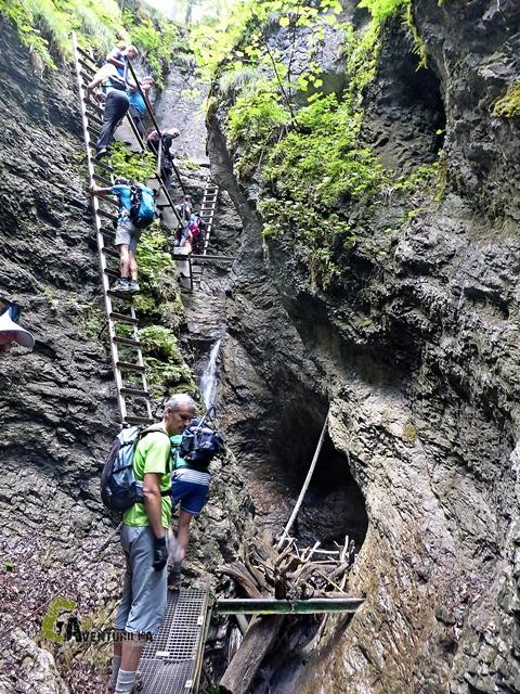 Escaleras en Sucha Bela