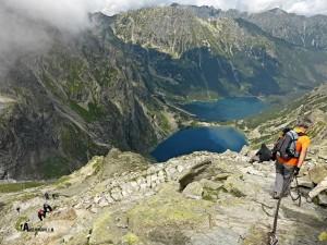 lagos Czarny Staw Pod Rysami y Morsky Oko