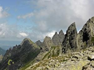 Afiladas agujas en Tatras