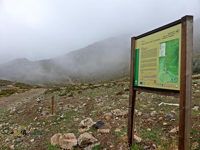 rutas en la Almijara