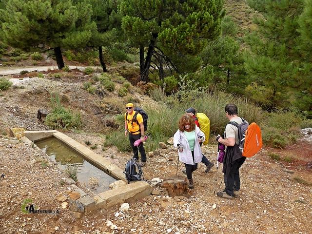 Fuente Barrera, en la Almijara