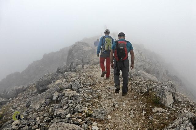 Subiendo al Cerro Lucero
