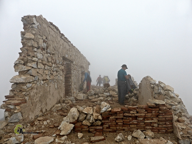 Fortín de la guardia civil en el Cerro Lucero