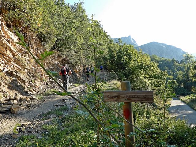 camino Arrafal en Panticosa