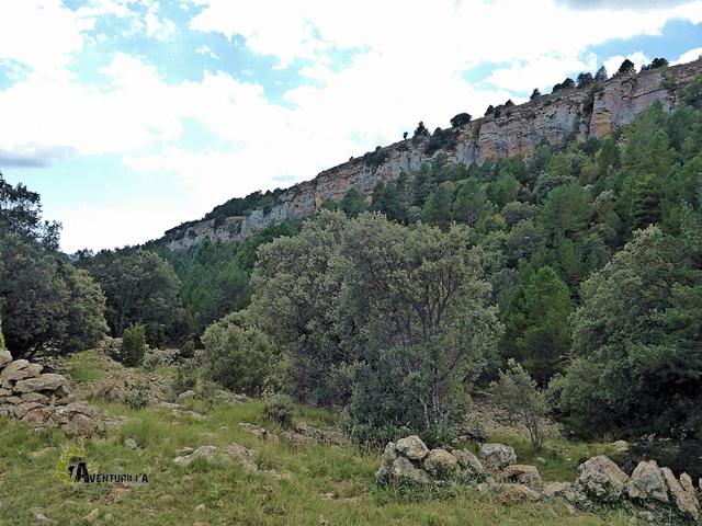Barranco de los frailes o de la Torre de Giles