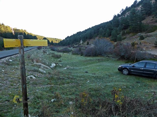rutas en la sierra de Gudar