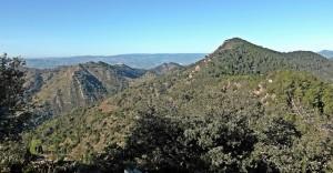 Desde el pico Gurugú