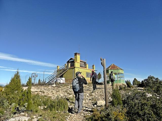En la cima del Morrón de Campos