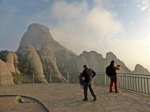 mirador en Montserrat