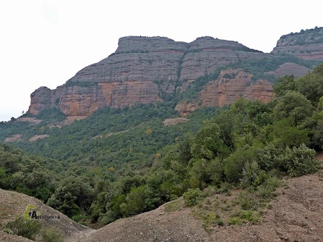 Roca Salvatge desde el Camí de la Canal de Mura