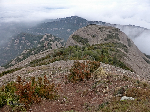 Vistas desde el Montcau