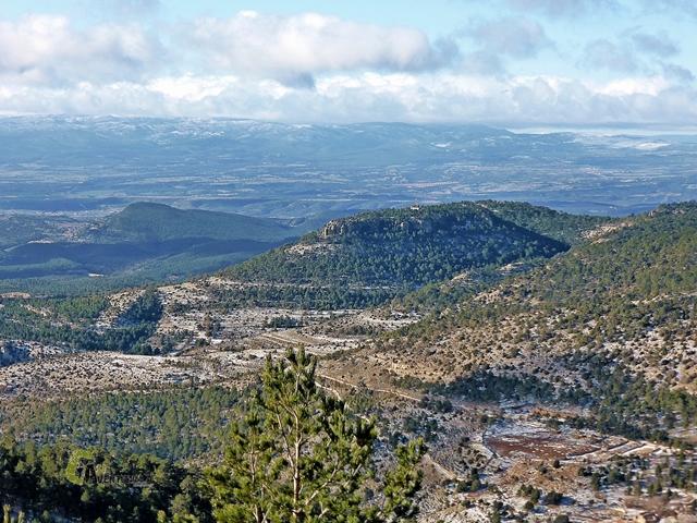 montañas de Mora de Rubielos