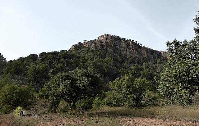 La Peña Negra en la Sierra Calderona