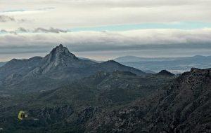 El pico Benicadell desde la Safor