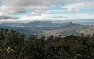 Vistas desde el pico de la Safor