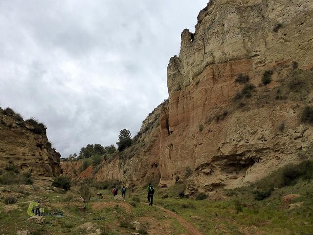 paredes de la rambla de los Morenos