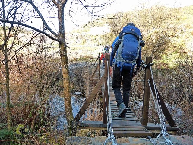 Puentes en el río Montsant