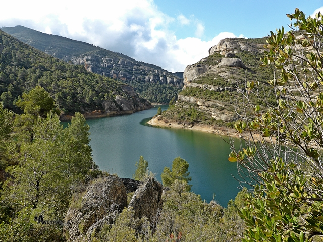 Embalse de Margalef