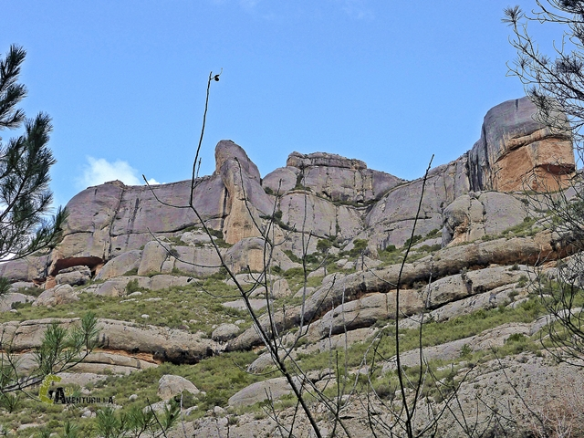 Orografía de la sierra de Montsant