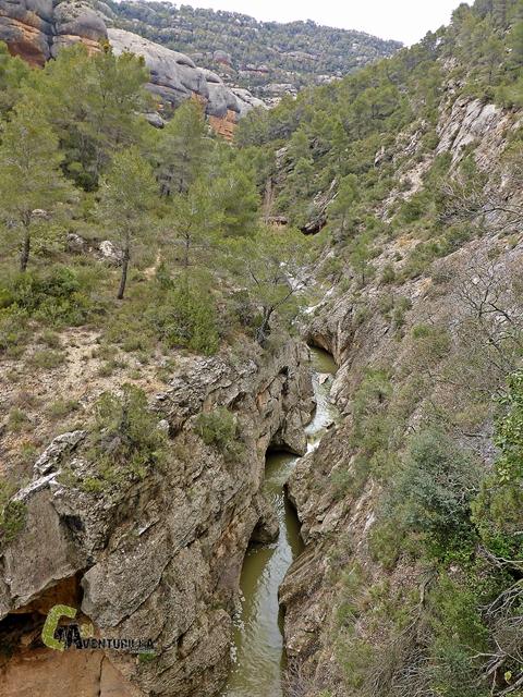 Mirador hacia el río Montsant