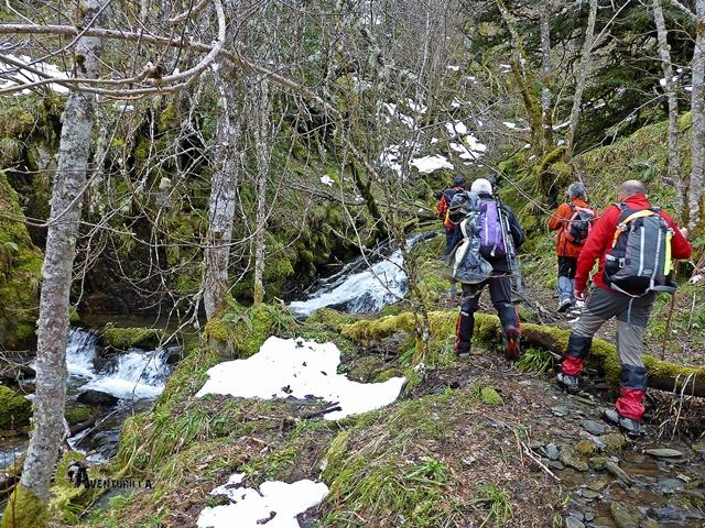 Cascadas en Braña Ronda