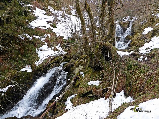 bellas cascadas