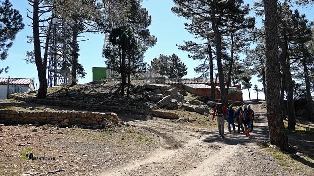 Cumbre del Monte Pina