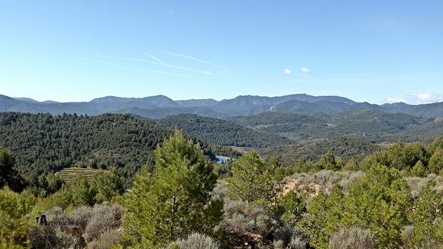 Vistas hacia Sierra de Espadan