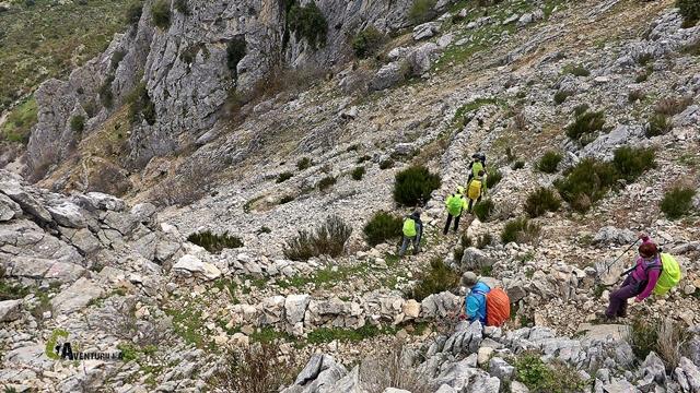 sendas de la sierra de Castril