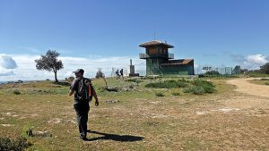 subida al Cerro de palomeras