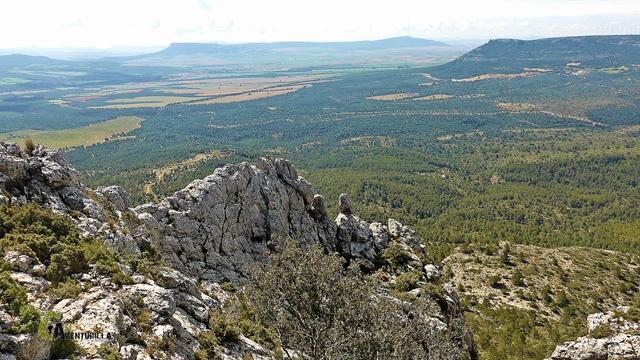 Vistas hacia la sierra del Mugrón