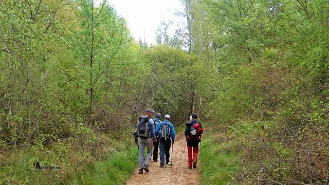 camino hacia las Chorreras