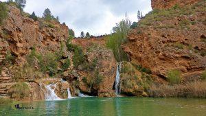 zona de baño en el río Cabriel