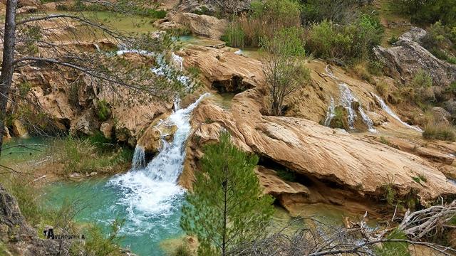 saltos de agua en Enguídanos