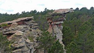 rocas erosionadas