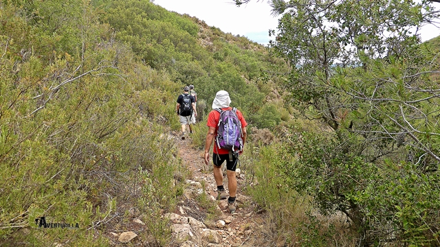 rutas en la Sierra Calderona