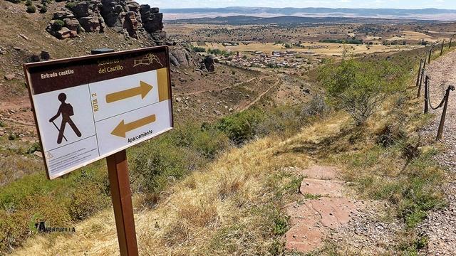 Ruta 2 del castillo de Peracense