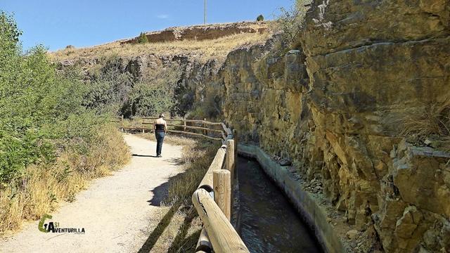 sendero del Camino Natural del río Guadalaviar