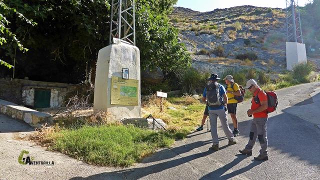 senderismo en Güejar Sierra