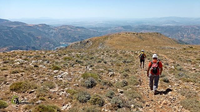 Bajando del Cerro El Calar