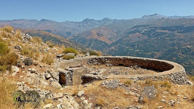Parapetos en Sierra Nevada