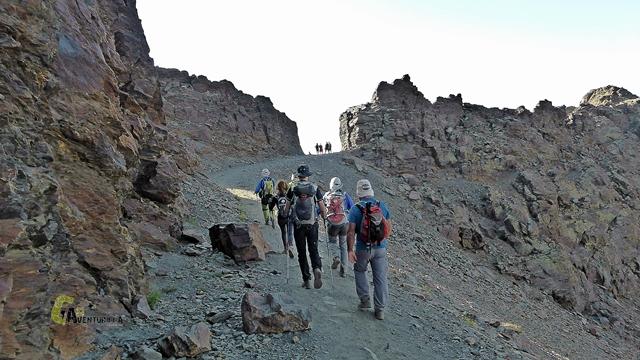 Paso de La Puerta en Sierra Nevada