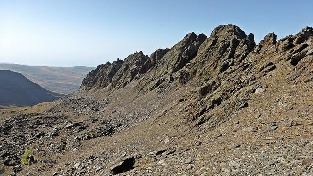 Los Raspones en Sierra Nevada